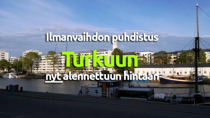 Ilmanvaihtokanavien puhdistus Turku